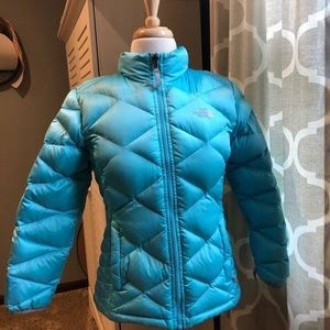The North Face winter puffer coat 550